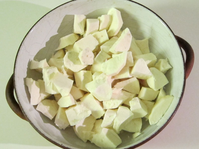 Manioca al forno ricette scorrette - Si mette in tavola si taglia ma non si mangia ...